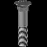 Schraube BTFCC 1250, Härte 12.9
