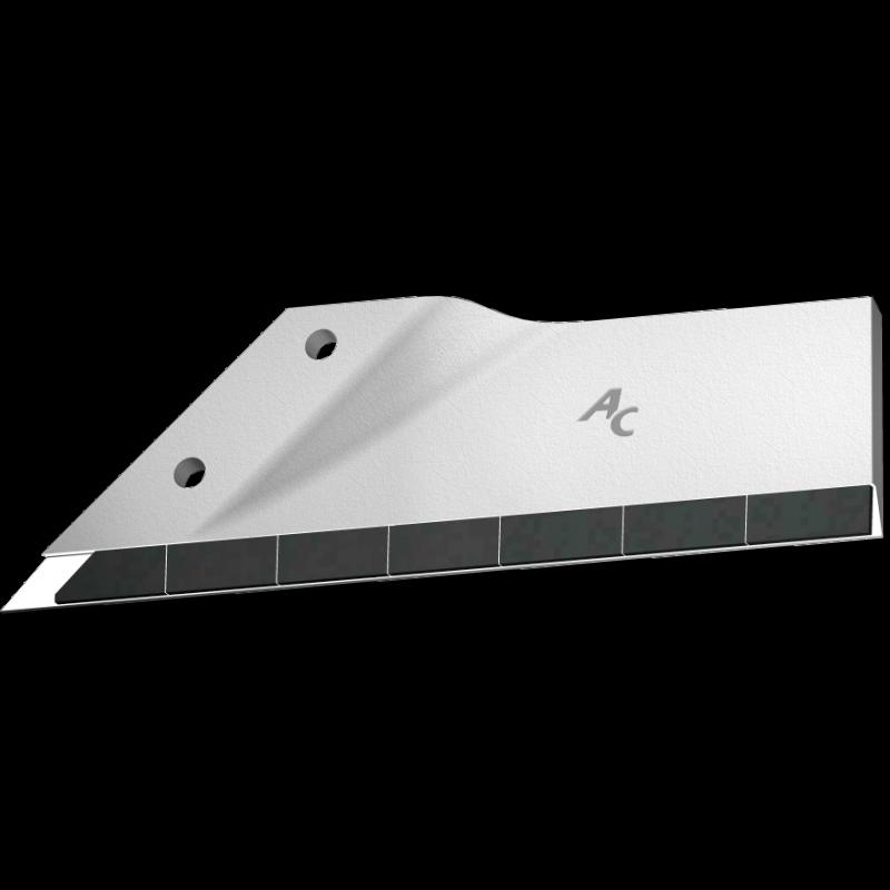 Flügelschar Maschio mit HM ADL 360CD (links) Agricarb