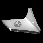 Flügelschar Pöttinger  mit HM ADP 0240D (rechts)