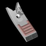 Scharspitze Lemken mit HM BDL 4441B