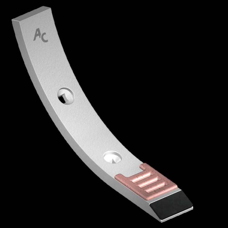 Scharspitze Lemken mit HM BDL 7106 Agricarb