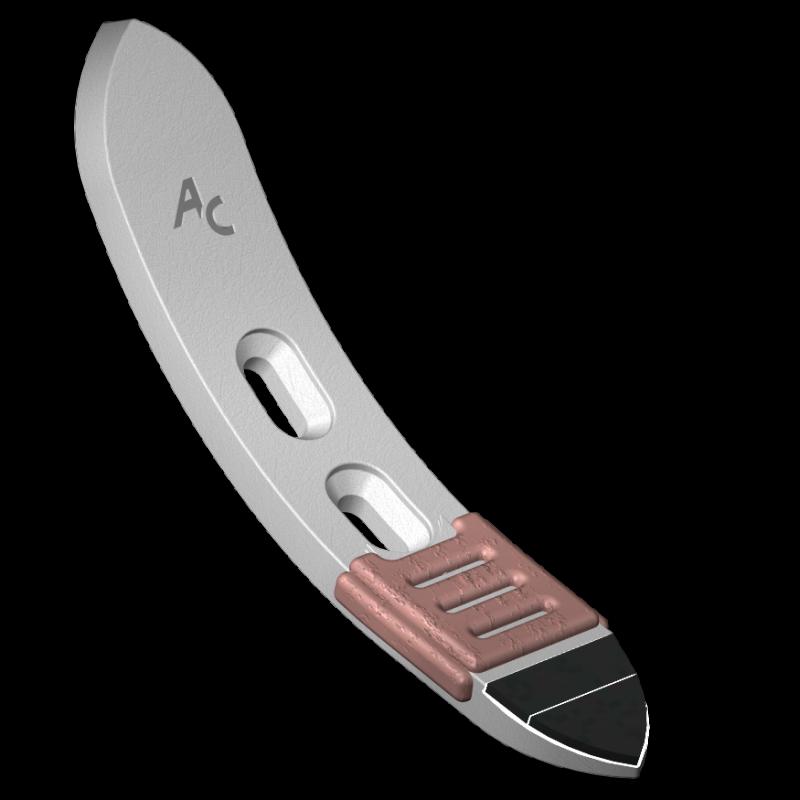 "Scharspitze ""universal"" mit HM SOC 0060 Agricarb"