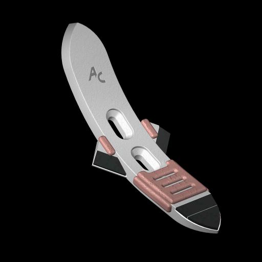 "Scharspitze ""universal"" mit HM SOC 060A Agricarb"