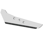 Rübenrodeschar Vervaet mit HM SRV 0500G (links)