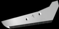 Rübenrodeschar Vervaet mit HM SRV 0500D (rechts)