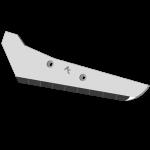 Rübenrodeschar Vervaet mit HM SRV 0501G (links)