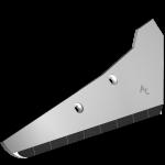 Rübenrodeschar Vervaet mit HM SRV 0501D (rechts)