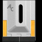 Abstreifer Amazone GAM 0085 mit HM