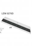 Meißelspitzen LEM 0275G (40x270x12 mm) Agricarb