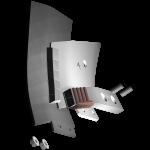 Tiefenlockerermeissel Bonnel mit HM CLM 0270D (rechts) Agricarb