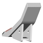 Tiefenlockerermeißel Bednar (Stromexport) mit HM SDB 0197-R