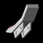 Tiefenlockerermeißel Maschio mit HM SDM 2661