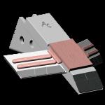 Tiefenlockerermeißel Razol mit HM SDR 4438-AR