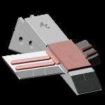 Tiefenlockerermeißel Razol mit HM SDR 4529-AR