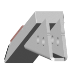 Tiefenlockerermeißel Razol mit HM SDR 4529-R Agricarb