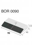 Meißelspitzen BOR 0090 (40x90x12 mm) Agricarb