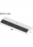 Meißelspitzen BOR 0180 (40x180x12 mm) Agricarb
