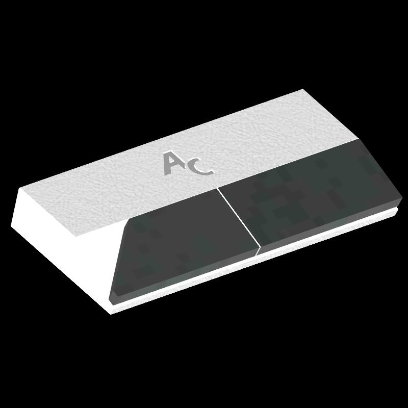 Meißelspitzen LEM 0272G (40x90x12 mm) Agricarb