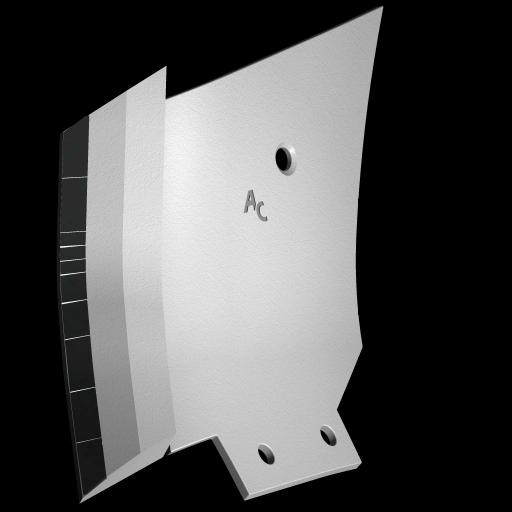 Tiefenlockerermeissel Bonnel mit HM CLM 0270G (links) Agricarb