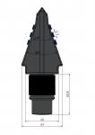 Flachzahne FZ70 mit HM