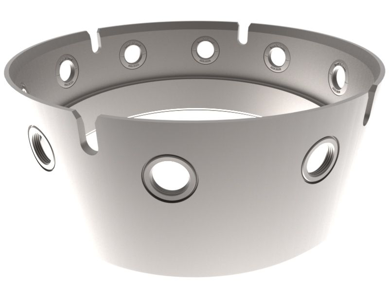 Bohrrohrverbinder 1000 mm (muttertail)