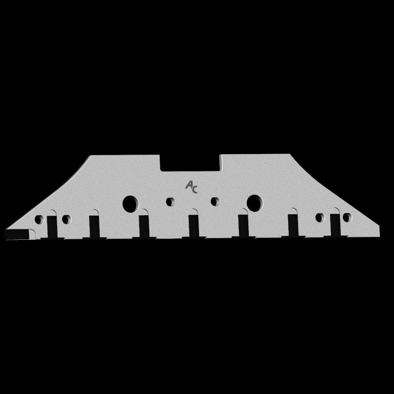 Anlage Kverneland mit HM CSK 0609D (rechts) Agricarb
