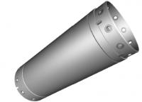 Bohrrohrverbinder 650 mm (vatertail)