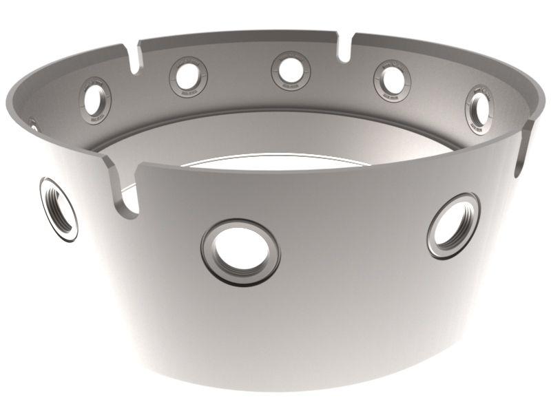 Bohrrohrverbinder 650 mm (muttertail)
