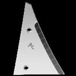 Streichblechvorderteile Kühn - Huard mit HM ETH 0064D (rechts)