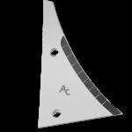 Streichblechvorderteile Kühn - Huard mit HM ETH 1780D (rechts)