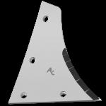 Streichblechvorderteile Kühn - Huard mit HM ETH 0172D (rechts)