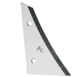 Streichblechvorderteile Kverneland mit HM ETK 0250D (rechts) Agricarb