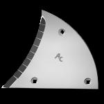 Streichblechvorderteile Lemken mit HM ETL 3450G (links)
