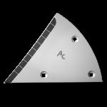 Streichblechvorderteile Lemken mit HM ETL 3454G (links)
