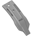 Scharspitze Horsch mit HM SCH0080P-R Agricarb