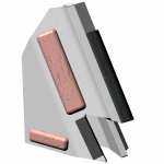 Tiefenlockerermeißel Actisol mit HM SFA 9106