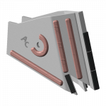 Tiefenlockerermeißel Actisol mit HM SFA 9307