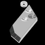Pflugspitzen Lemken mit HM PBL 4156ND (rechts)