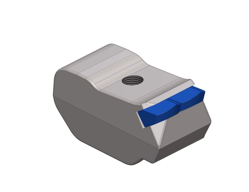 Schläger für Seppi, mit 2 x Hartmetallspitzen