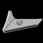 Flügelschar Pöttinger  mit HM ADP 0250G (links)