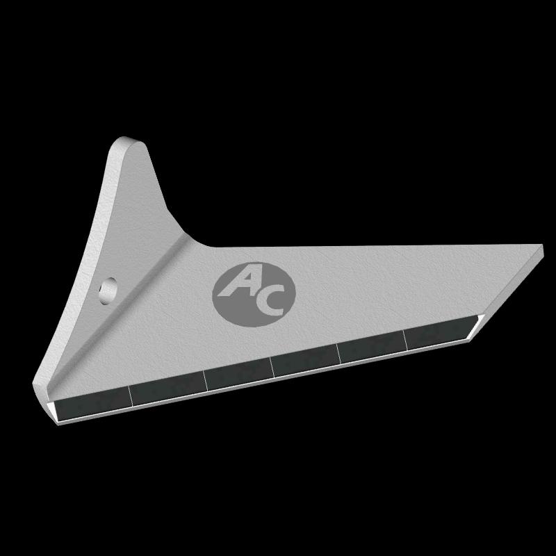 Flügelschar Pöttinger mit HM ADP 0250G (links) Agricarb