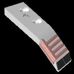 Tiefenlockerermeissel Askel mit HM BLG 7236G (links)