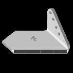 Flügelschar Alpego  mit HM ADH 0856D (breit, rechts)