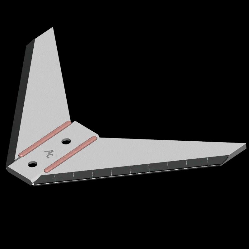 Flügelschar Amazone mit HM ADA 4810 Agricarb