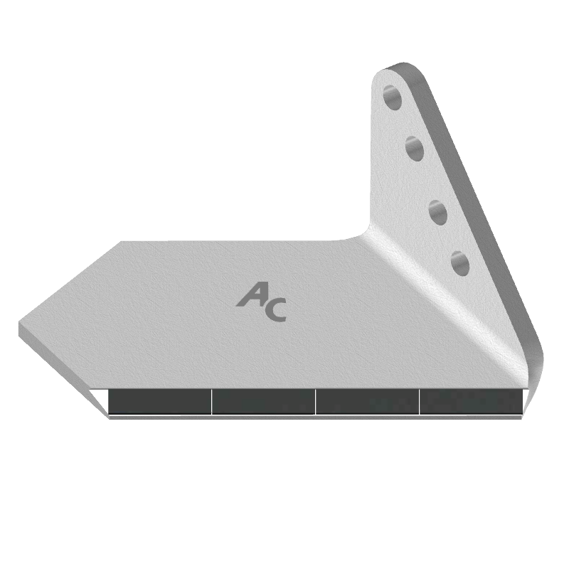 Flügelschar mit HM ADH 0856D (breit, rechts) Agricarb