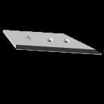 Flügelschar Kverneland  mit HM ADK 0125D (rechts)