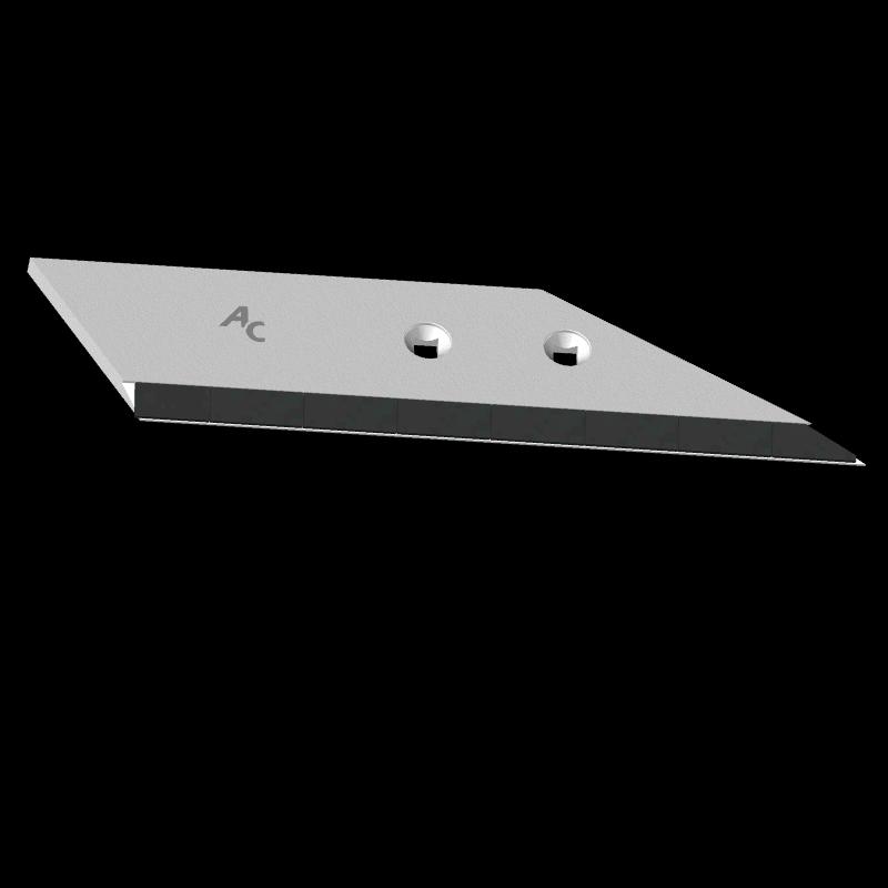 Flügelschar Kverneland mit HM ADK 0125D (rechts) Agricarb