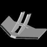 Flügelschar Kverneland  mit HM ADK 4701