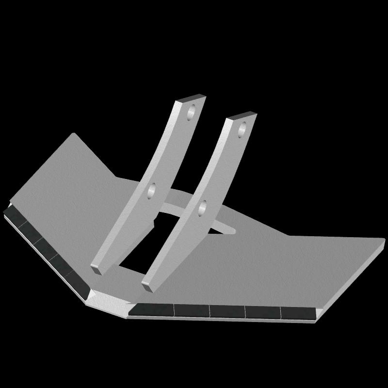 Flügelschar Kverneland mit HM ADK 4701 Agricarb
