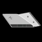 Flügelschar Lemken mit HM ADL 0020D (rechts)